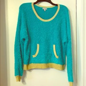 Blue Juicy Couture Sweater.